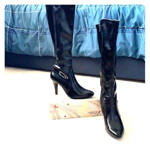 NWT Dana Buchanan black dress boots